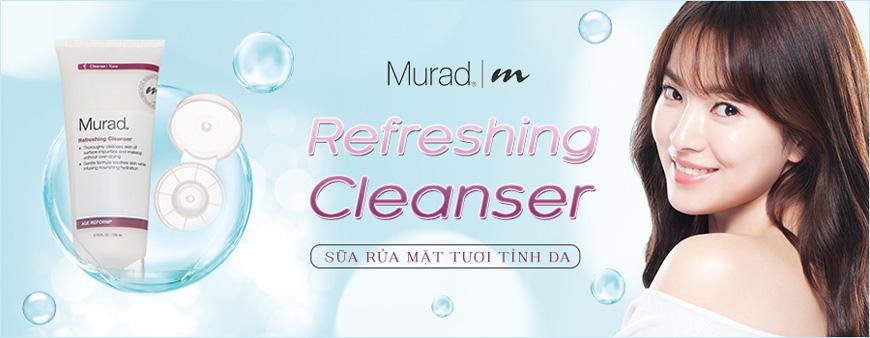 Sữa rửa mặt tươi tỉnh da Murad Refreshing Cleanser 1