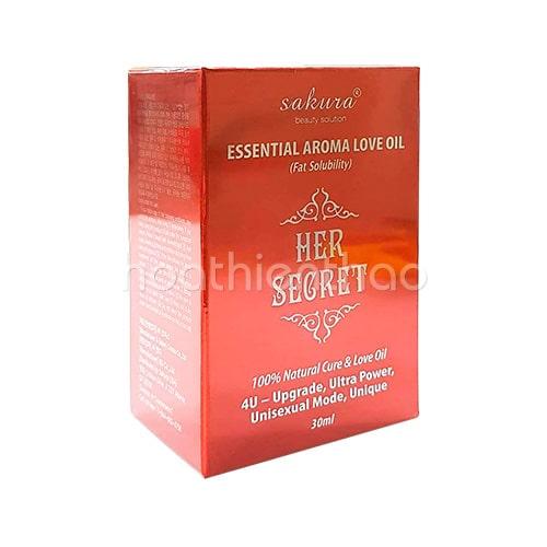 Tinh dầu Sakura Essential Aroma Love Oil 04