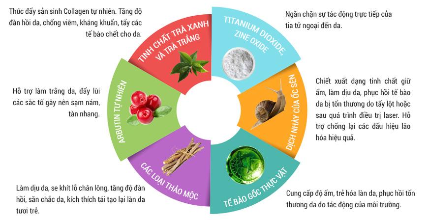 Kem trang điểm dưỡng da Sakura CC Cream 3