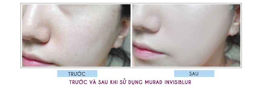 Hiệu quả Murad Invisiblur Perfecting Shield Broad Spectrum SPF 30 PA+++