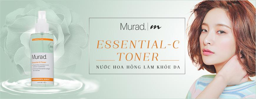 Nước hoa hồng làm khỏe da Murad Essential-C Toner 1