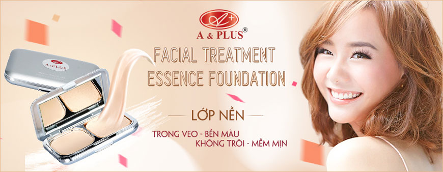 Phấn nền không trôi A&Plus Facial Treatment Essence Foundation A021
