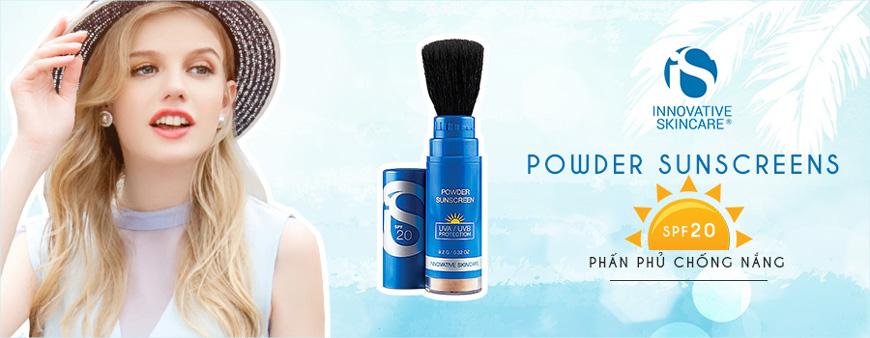 Phấn phủ chống nắng iS Clinical Powder Sunscreens SPF 20 1