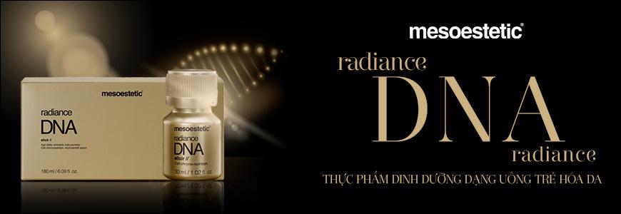 Thực phẩm dinh dưỡng dạng uống trẻ hóa da  Mesoestetic Radiance Dna Elixir 1