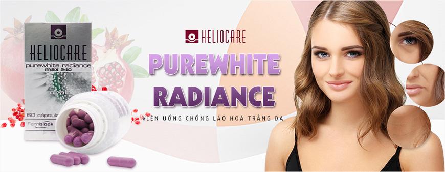 Viên uống chống lão hoá trắng da Heliocare Purewhite 1