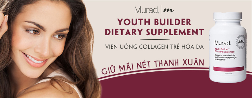 Viên uống Murad Youth Builder Collagen Supplement