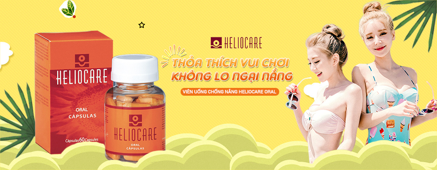 Viên uống chống nắng Heliocare Oral 1