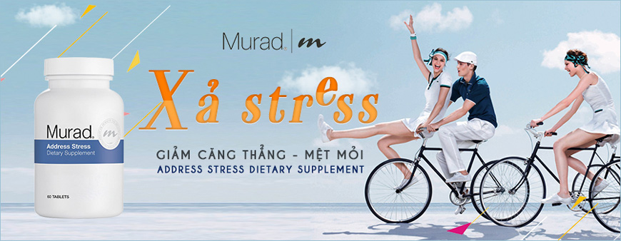 Viên uống Murad Address Stress Dietary Supplement