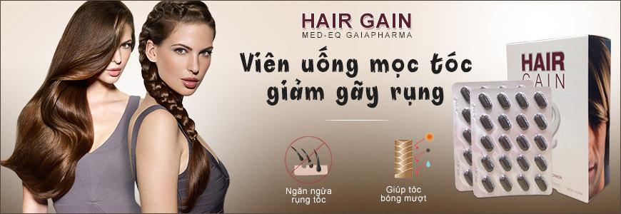 Viên uống mọc tóc, giảm gãy rụng Hair Gain Med-Eq Gaiapharma
