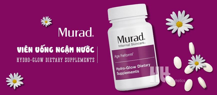 Viên uống ngậm nước Murad Hydro-Glow Dietary Supplements