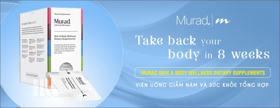 Viên uống trị nám da Murad Skin & Body Wellness Dietary Supplements