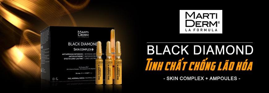 Serum chống lão hóa da MartiDerm Black Diamond Skin Complex+