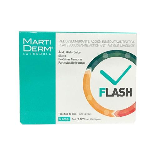 Serum làm sáng da dưỡng ẩm tức thì MartiDerm Flash Ampoules