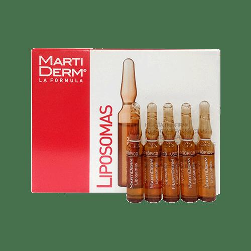 Serum dưỡng ẩm chống lão hóa cho da dầu MartiDerm Liposomas Ampoules