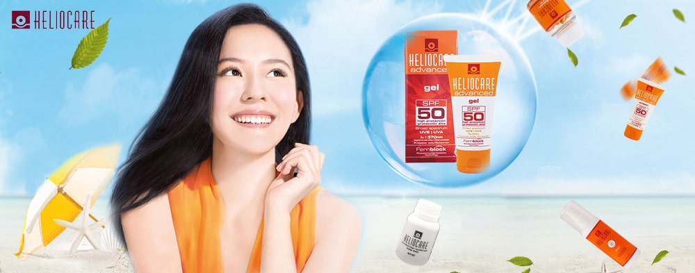 Gel chống nắng Heliocare Advanced SPF 50