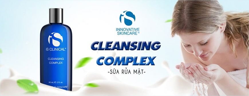 Sữa rửa mặt dạng gel Is Clinical Cleansing Complex