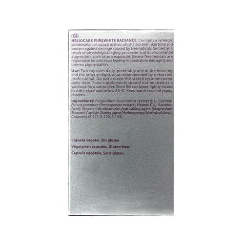 Viên uống chống lão hóa da Heliocare Purewhite 03