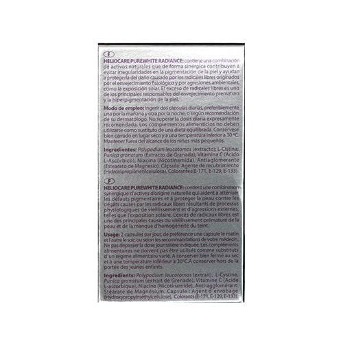 Viên uống chống lão hóa da Heliocare Purewhite 05